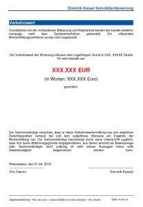 Kurzgutachten Beispiel Dominik Kassel Immobilienbewertung Karlsruhe Seite 2